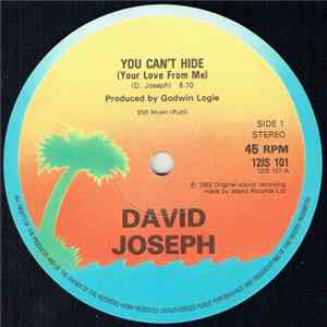 Download David Joseph - You Can't Hide (Your Love From Me) FLAC