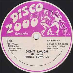 Download Prince Edwards - Don't Laugh FLAC