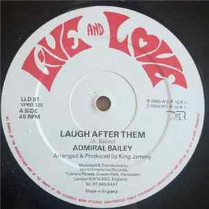Download Admiral Bailey - Laugh After Them FLAC