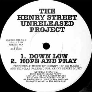 Download Johnny D & Nicky P - The Henry Street Unreleased Project FLAC